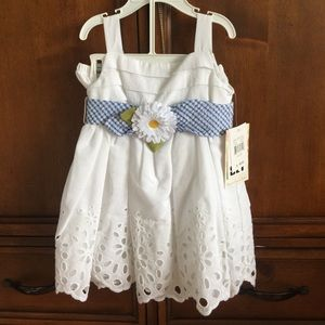 Sweet Heart Rose Other - NWT 24 mo dress with diaper cover