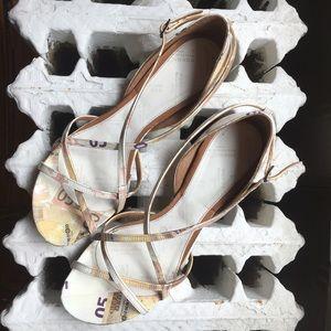 Maison Martin Margiela Shoes - Maison Martin Margiela Euro Print Flats