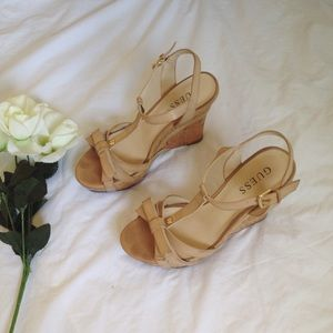 Guess Shoes - guess wedges🌹