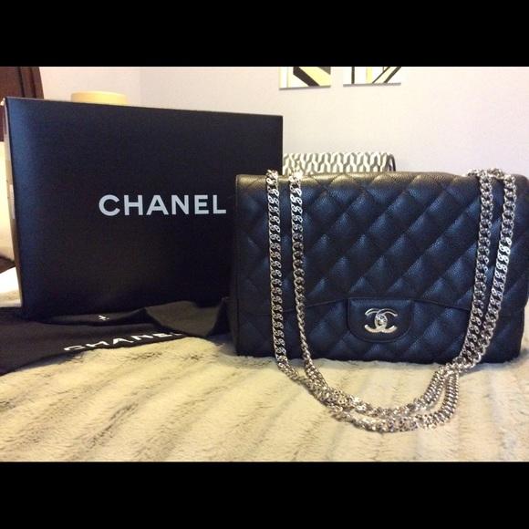 da7001fa478b CHANEL Handbags - Chanel classic jumbo single flap