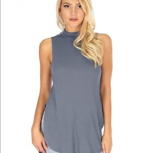 3ffb874478e4d Tops - Flirting With Danger Ribbed Cut-Out Top