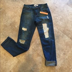 DITTOS Destroyed Asher Jeans Straight Relaxed NWT
