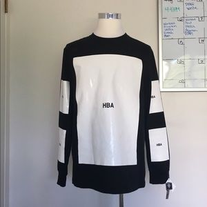 Hood by Air Other - HBA x YoHood BLACK XMAS Long Sleeve Tee