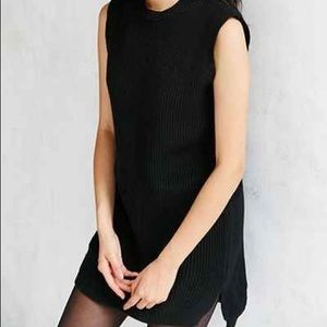 NATIVE YOUTH Dresses & Skirts - NEW W/ TAGS Native Youth Black Knit Sweater Dress