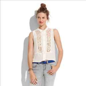  Silk & Lace Madewell Top 