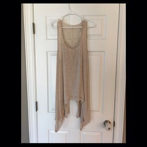 love on a hanger Tops - Cute long loose Tank
