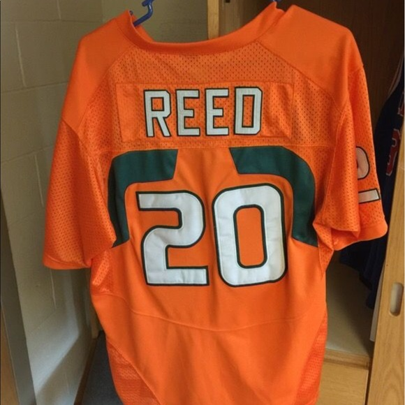 info for b01fa 25c0d Ed Reed Miami hurricanes jersey