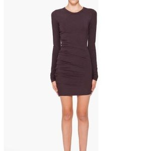 Alexander Wang Dresses & Skirts - T Alexander Wang Aubergine Long Sleeve Dress M
