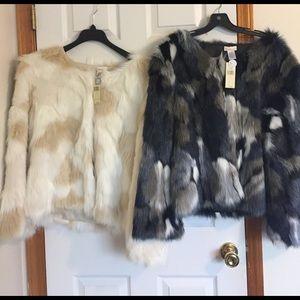 Collection XIIX Jackets & Blazers - Beautiful Faux Fur Jackets