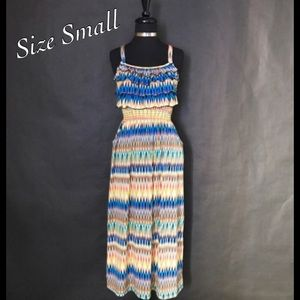 Dresses & Skirts - Multi-Colored Boho Dress