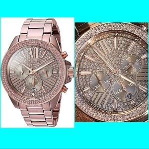 Michael Kors Accessories - 🎉HOST PICK🎉Authentic Michael Kors Crystal Watch