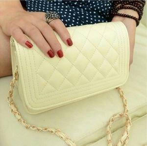 unknown  Handbags - Cream Crossbody