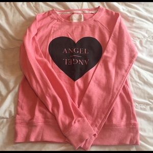 Victoria's Secret Tops - cute vs angel crewneck size S