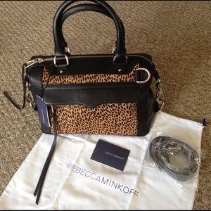 Rebecca Minkoff Handbags - Rebecca Minkoff MAB mini leopard calf