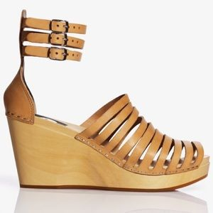 Swedish Hasbeens Shoes - Swedish Hasbeen x H&M wedge clogs