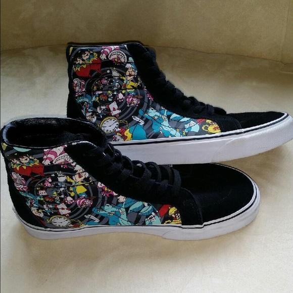 23970b10ce7bd3 Vans Shoes - Disney Vans Sk8-Hi Alice in Wonderland