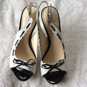 Coach Shoes - Stunning Coach Antonia Leather Heels Size 7.5