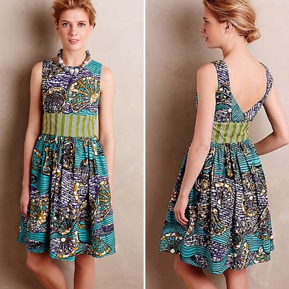 e1ec79713d5b Anthropologie Dresses   Skirts - Anthropologie Mille Collines Moonrise Tea  Dress
