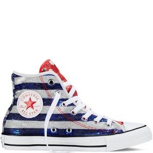 Converse Shoes - Sequin Converse Hightop