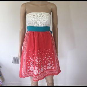 Flying Tomato Dresses & Skirts - Flying Tomato strapless sundress