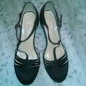 Ellie Shoes - Black Mary Jane's by Ellie