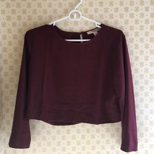 English Factory Tops - Cropped Blouse