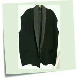 Mercer & Main Jackets & Blazers - New!🎉🎊Plus Duster Style  Sweater Vest
