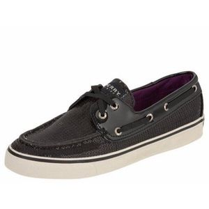 Womens Sperry Top Sider Bahama Sequined Boat Shoe