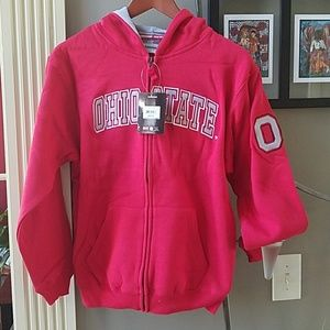 Colosseum Other - Ohio State Youth M 12-14 NWT fleeced hoodie nice!