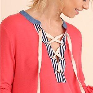 Dresses & Skirts - ❤️ Host Pic ❤️ Strawberry Bell Sleeve Tee Dress