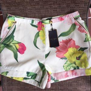 Ted Baker Floral Shorts