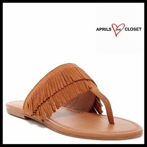BC Footwear Shoes - ❗️1-HOUR SALE❗️SUEDE FLATS LEATHER SANDALS