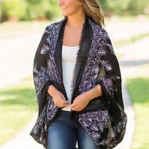 Other - Beach Coverup or light jacket color Black/White