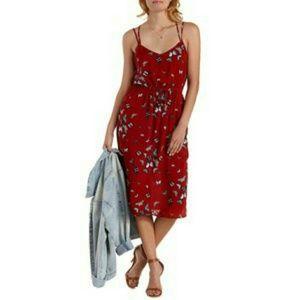 Charlotte Russe Dresses & Skirts - Charlotte Russe Butterfly Midi Dress