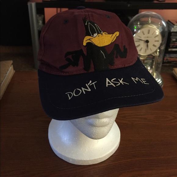 Looney Tunes Other - Vintage Looney Tunes DAFFY DUCK SnapBack da56c030465