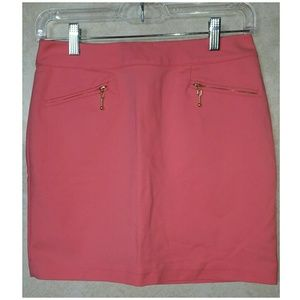 H&M Pink Mini Skirt