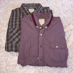 Life After Denim Other - 2 NWT Life/After/Denim Button Down Shirts