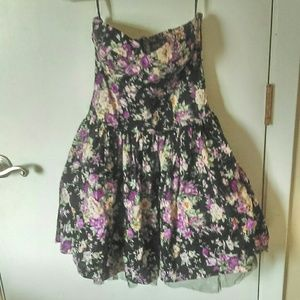 Aprico Dresses & Skirts - Black floral dress