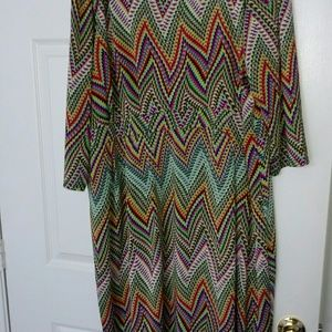 Anna Scholz Dresses & Skirts - Anna Scholz Multi Color Dress (slightly worn)