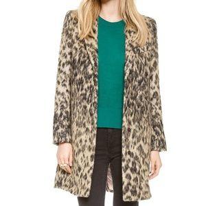 89873c7715c5 Smythe Jackets & Coats | Symthe Leopard Lab Coat | Poshmark