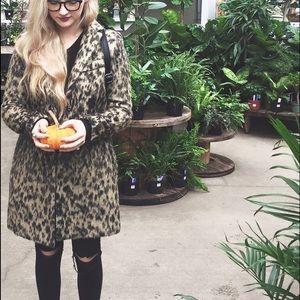 Smythe Jackets & Blazers - Symthe Leopard Lab Coat