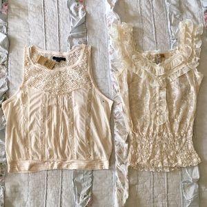 NWT American Eagle blouse S shirt American Rag top