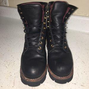 Chippewa Shoes - Chippewa logger boots not steel toe