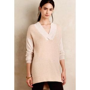 Anthropologie Moth Colorblock Moth Pullover