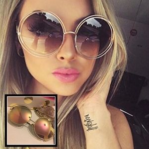 unbranded Accessories - ✨ 1 left 🎉 ✨ Big Circle• Pink mirror sunglass