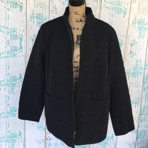 Gallery Jackets & Blazers - Gallery Woman plus size black jacket