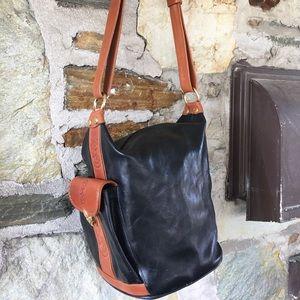 Marino Orlandi  Handbags - Marino Orlandi Leather Bucket Bag- great vintage!