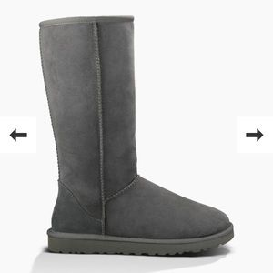 UGG Shoes - Tall Grey Uggs