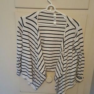 Cherokee Other - Black and white stripe cardigan