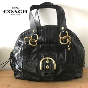 COACH Soho Courtney Patent Leather Satchel bag